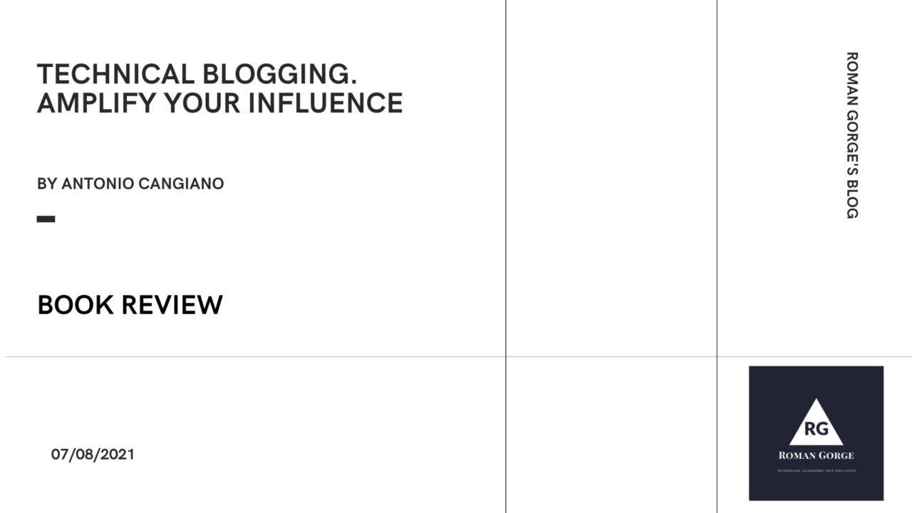 Technical Blogging